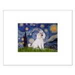 Starry Night / Std Poodle(w) Small Poster