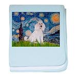 Starry Night / Std Poodle(w) baby blanket
