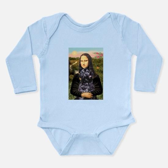 Mona Lisa's PWD (5) Long Sleeve Infant Bodysuit