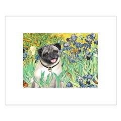 Irises / Pug Posters
