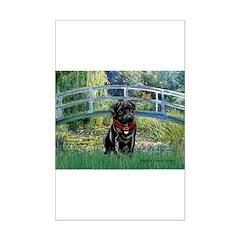 Bridge / Black Pug Posters