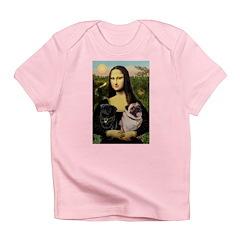 Mona's 2 Pugs Infant T-Shirt