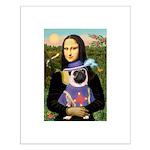 Mona & Sir Pug Small Poster