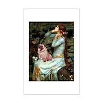 Ophelia / Fawn Pug Mini Poster Print