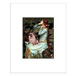Ophelia / Fawn Pug Small Poster