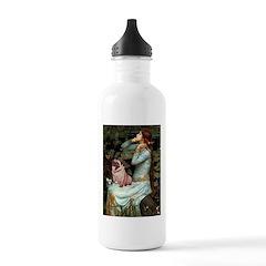 Ophelia / Fawn Pug Water Bottle