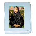 Mona Lisa /Puli baby blanket