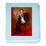 Lincoln / Rat Terreier baby blanket