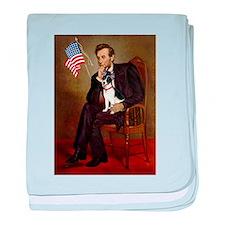 Lincoln / Rat Terreier baby blanket