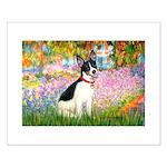 Garden / Rat Terrier Small Poster
