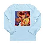 Mandolin / Rat Terrier Long Sleeve Infant T-Shirt