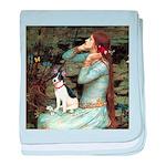 Ophelia / Rat Terrier baby blanket