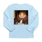Queen / Rat Terrier Long Sleeve Infant T-Shirt
