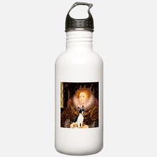 Queen / Rat Terrier Water Bottle