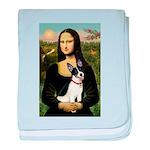 Mona / Rat Terrier baby blanket