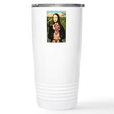 Mona / Rhodesian Ridgeback Travel Mug