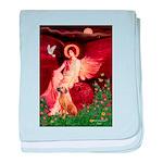 Angel / R Ridgeback baby blanket