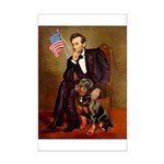Lincoln's Rottweiler Mini Poster Print