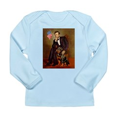 Lincoln's Rottweiler Long Sleeve Infant T-Shirt