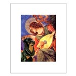 Mandolin Angel/Rottweiler Small Poster