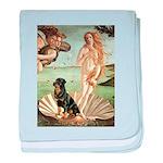 Venus & Rottweiler baby blanket