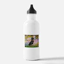 Garden / Rottweiler Water Bottle