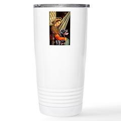 Madonna/Rottweiler Travel Mug