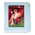 Angel #1/Rottweiler baby blanket