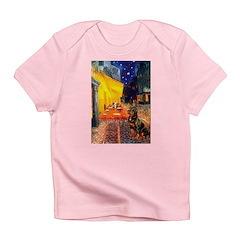 Cafe & Rottweiler Infant T-Shirt