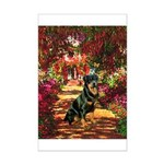 The Path / Rottie Mini Poster Print