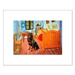 Room / Rottweiler Small Poster
