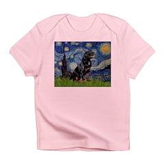 Starry/Rottweiler (#6) Infant T-Shirt