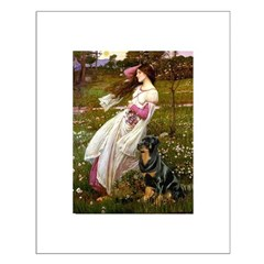 Windflowers / Rottweiler Posters