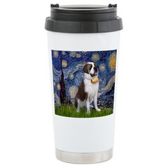 Starry / Saint Bernard Travel Mug
