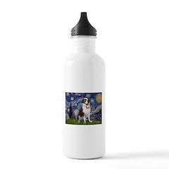 Starry / Saint Bernard Water Bottle