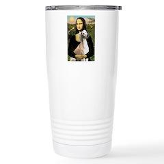 Mona Lisa (new) & Saluki Travel Mug