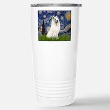 Starry / Samoyed Travel Mug