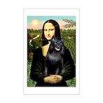 Mona's Schipperke (#5) Mini Poster Print