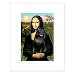 Mona's Schipperke (#5) Small Poster