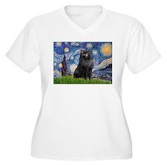 Starry / Schipperke #2 T-Shirt