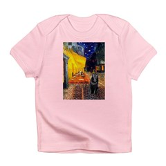 Cafe & Schipperke Infant T-Shirt
