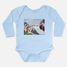 Creation / Schnauzer (#8) Long Sleeve Infant Bodys
