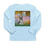Garden / Miniature Schnauzer Long Sleeve Infant T-