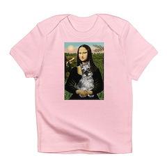 Mona Lisa's Schnauzer (#1) Infant T-Shirt