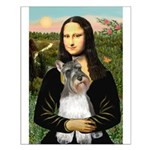Mona / M Schnauzer Small Poster