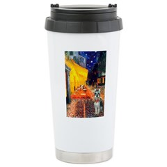 Cafe / Schnauzer (#8) Travel Mug