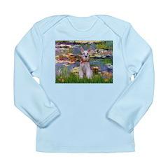 Lilies / M Schnauzer Long Sleeve Infant T-Shirt