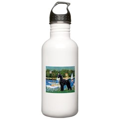 SCHNAUZER & SAILBOATS Water Bottle