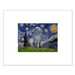 Starry /Scot Deerhound Small Poster