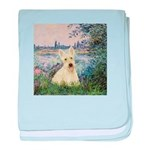 Seine / Scottie (w) baby blanket